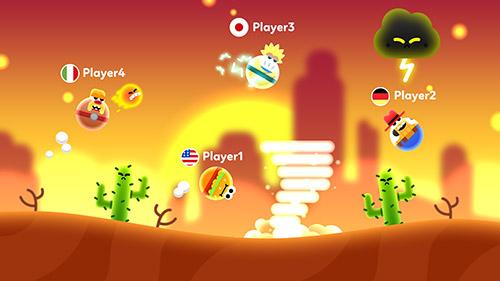 Arcade-Spiele Bloop go! für das Smartphone
