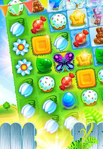 Arcade Easter sweeper: Eggs match 3 für das Smartphone