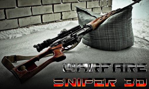 Warfare sniper 3D icône