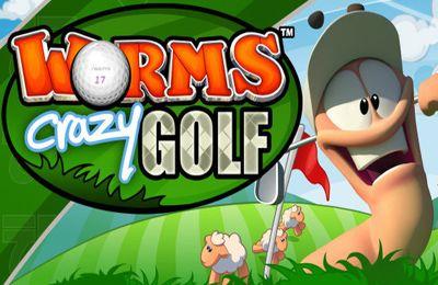 logo Worms Crazy Golf