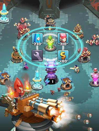 Creeps del castillo: Defensa de la torre para iPhone gratis