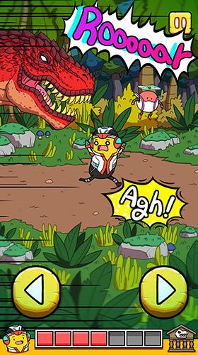 d'arcade Banatoon 2: Jurassic world! pour smartphone