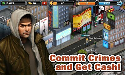 Economy games Crime City in English