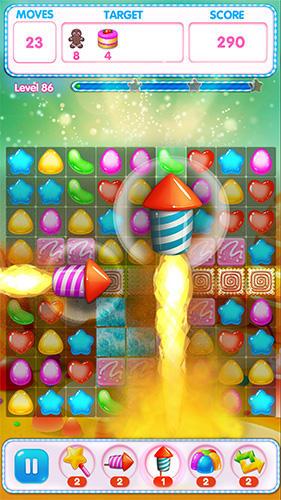Sweet match 3 für Android
