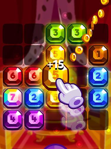 Logikspiele Bubbu jewels für das Smartphone