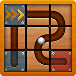 Roll the ball: Slide puzzle 2 icono