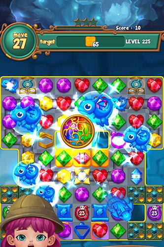 Jewels fantasy: Match 3 puzzle скриншот 1