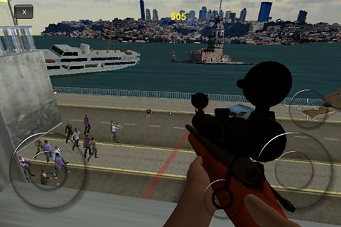 Screenshot Nach den Zombies auf dem iPhone