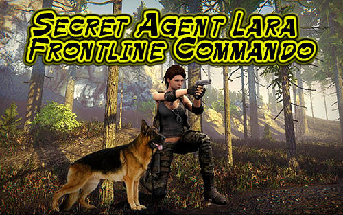 Secret agent Lara: Frontline commando TPS іконка