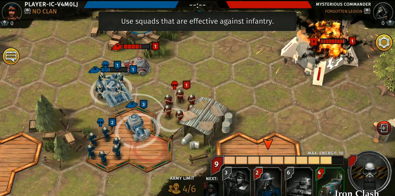 Iron Clash скриншот 1