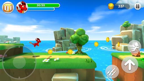 Arcade-Spiele Dragon land für das Smartphone