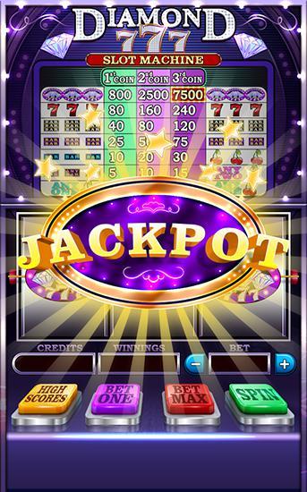 Jeux de hasard Diamond 777: Slot machine pour smartphone