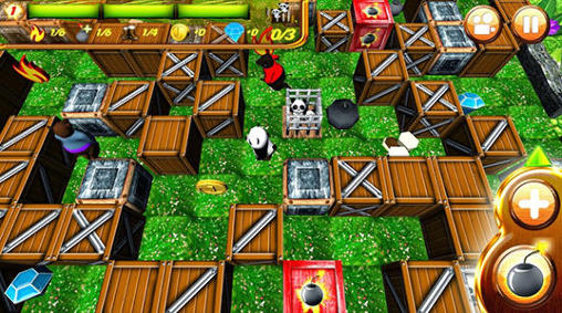 Hero panda: Bomber screenshot 3