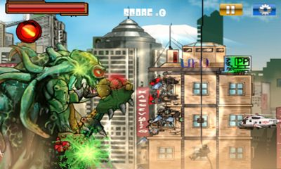 Monsters Rampage pour Android