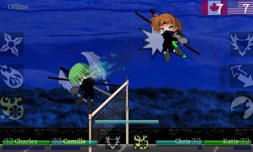 Ninja volley 2 скріншот 1
