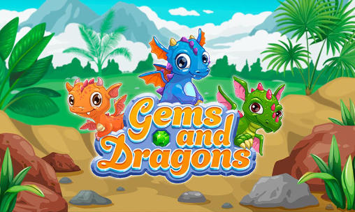 Gems and dragons: 3 candy Screenshot