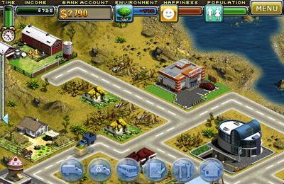 Virtual city for iPhone