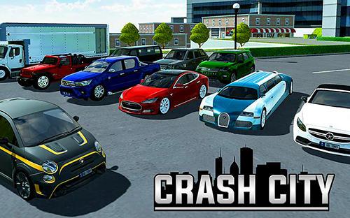 Crash city: Heavy traffic drive screenshot 1