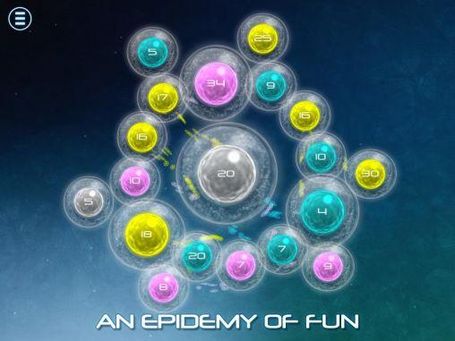 Arcade-Spiele Biotix: Phage genesis für das Smartphone