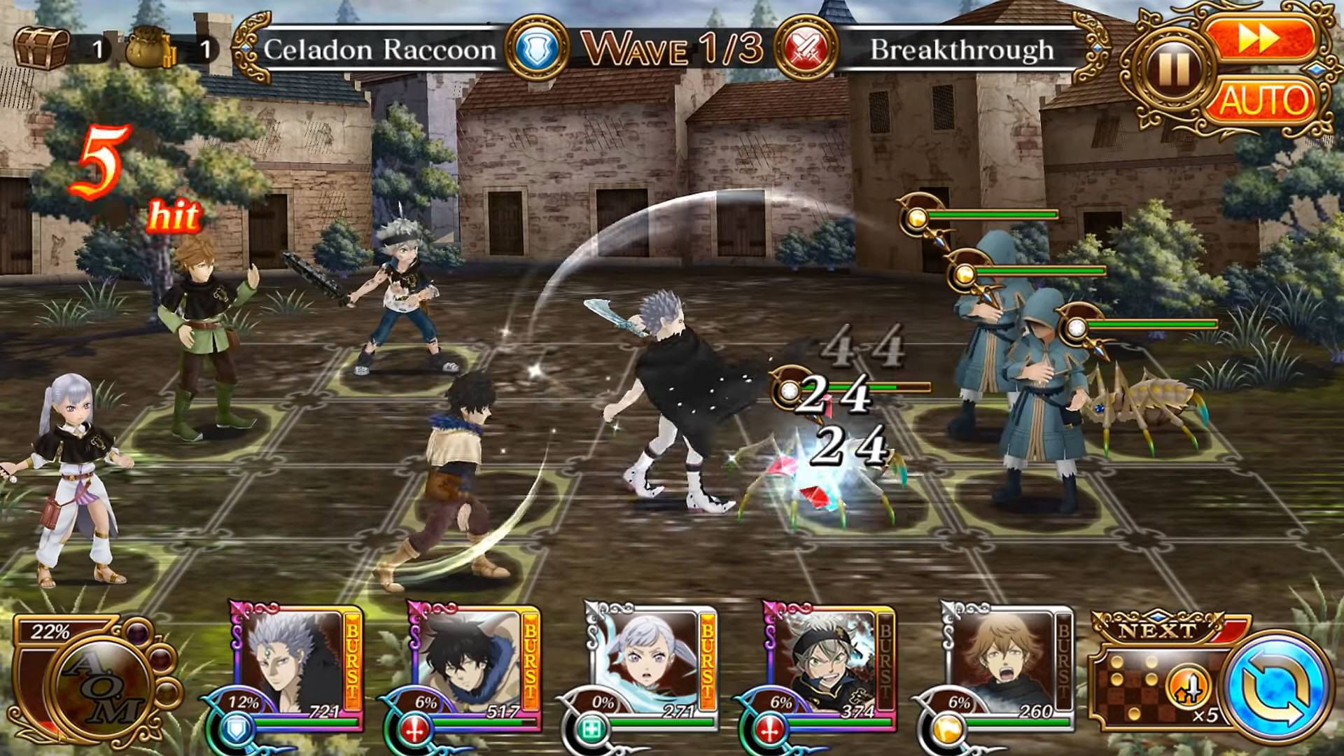 Black Clover Phantom Knights para Android