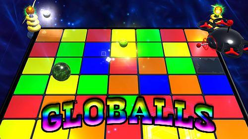 логотип Боевые шары
