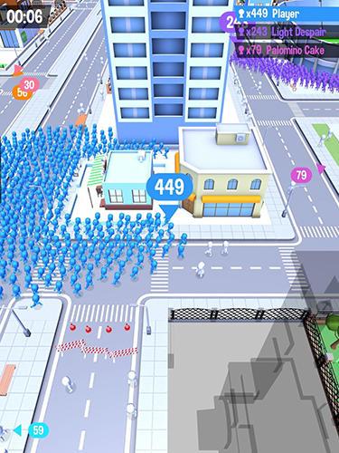 Andrang in der Stadt für iPhone