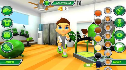 Arcade-Spiele Mighty runner für das Smartphone