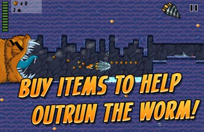 Arcade-Spiele: Lade Wurm Rennen auf dein Handy herunter