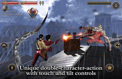 Actionspiele: Lade Blutige Dächer auf dein Handy herunter