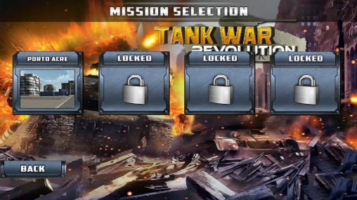 Tank war: Revolution скриншот 2