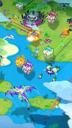 Onlinespiele Sky kingdoms für das Smartphone