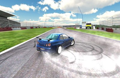 Screenshot CarX demo - Rennvund Drift Simulator auf dem iPhone