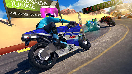 Bike racing rider Screenshot