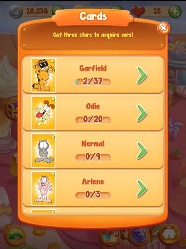 Captura de pantalla Jefe de cocina de Garfield: Juego de la comida en iPhone