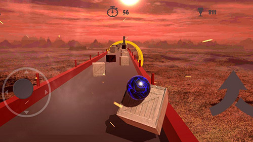 Crazy ball 3D: Death time für Android