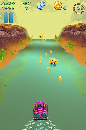 Turbo boat dash screenshot 1