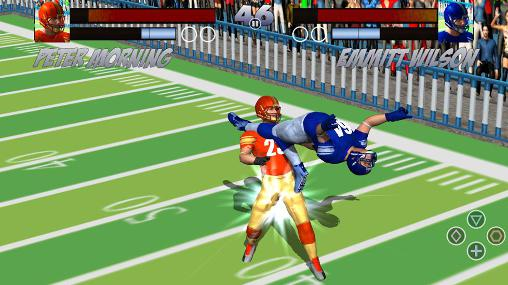 Football rugby players fight screenshots