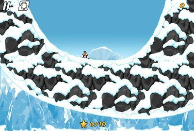 Captura de tela iDublê 2 - Snowboard no iPhone