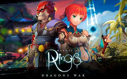 Heroes of rings: Dragons war. Fantasy quest games Symbol