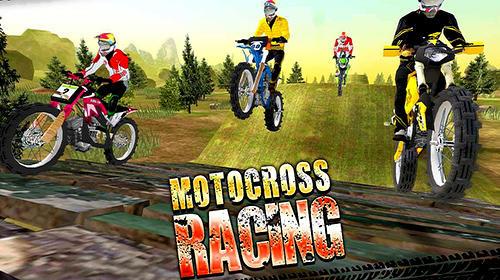Motocross racing screenshot 1