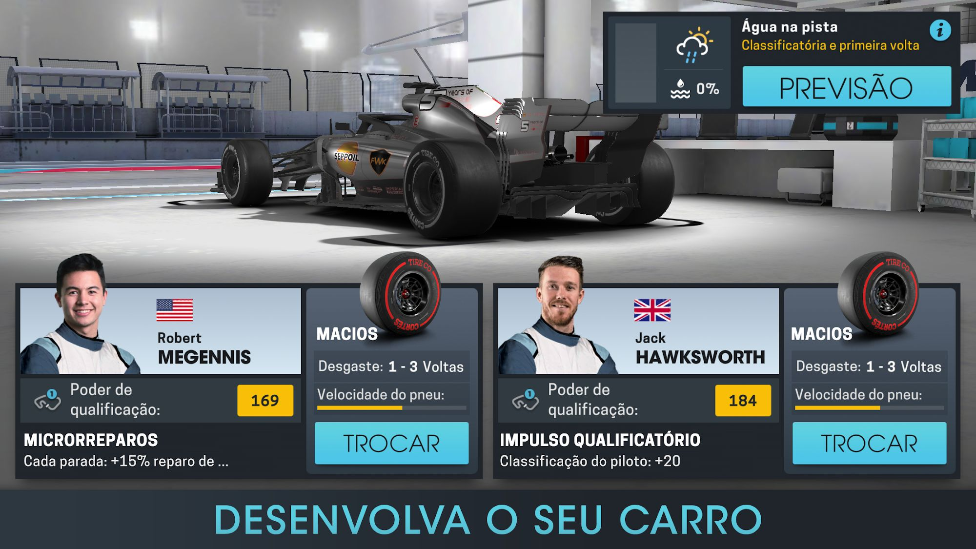 Motorsport Manager Online para Android
