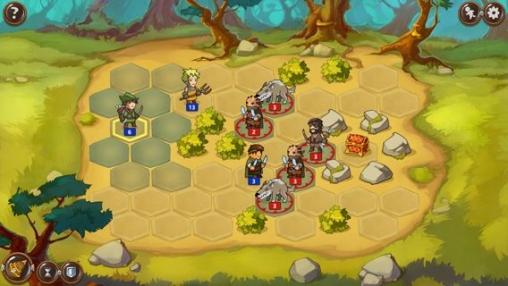 Captura de pantalla La tierra valiente en iPhone