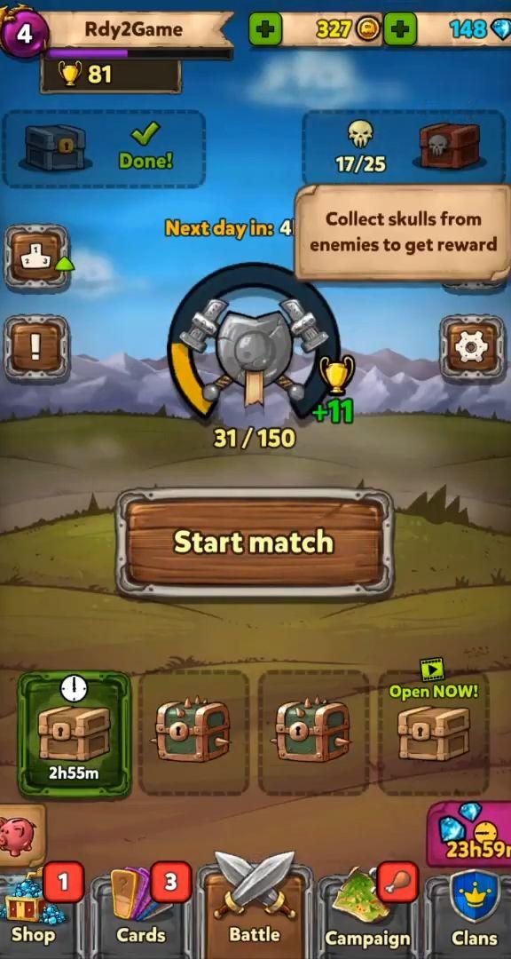 Card Crushers: Multiplayer monster battle CCG captura de pantalla 1