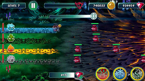 Elements vs. monsters pour Android