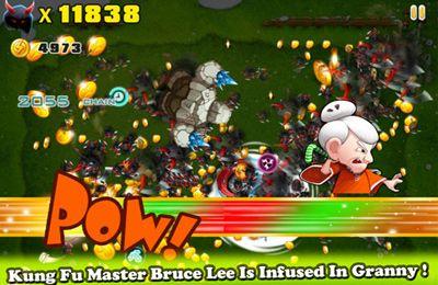 La Mémé - Kung Fu pour iPhone gratuitement