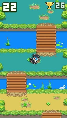 Arcade-Spiele Bog racer für das Smartphone