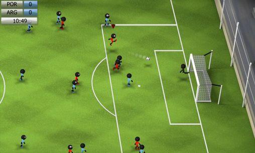 Stickman soccer 2014 für Android