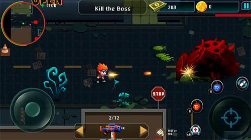 Jogos de ação Aliens agent: Star battlelandspara smartphone