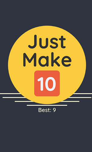 Just make 10! Combine and grow Symbol