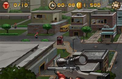 Screenshot Eye of Death on iPhone